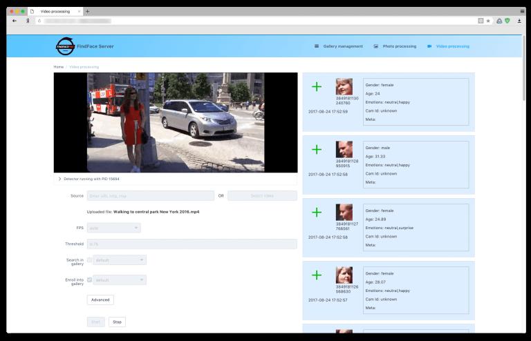 Trabalhando com vídeo na interface do usuário.