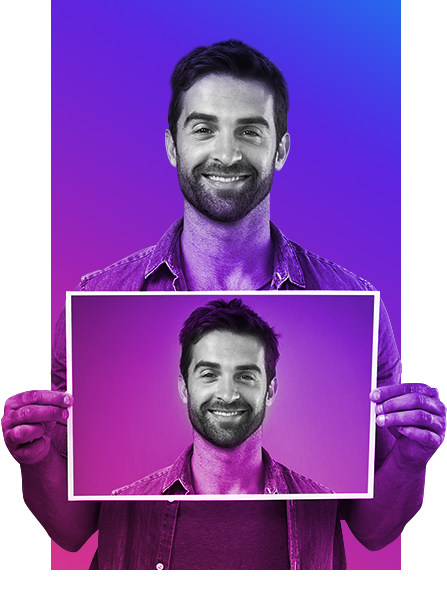 Антиспуфинг-система, которая позволяет отличить живого человека от изображения в FindFace Security