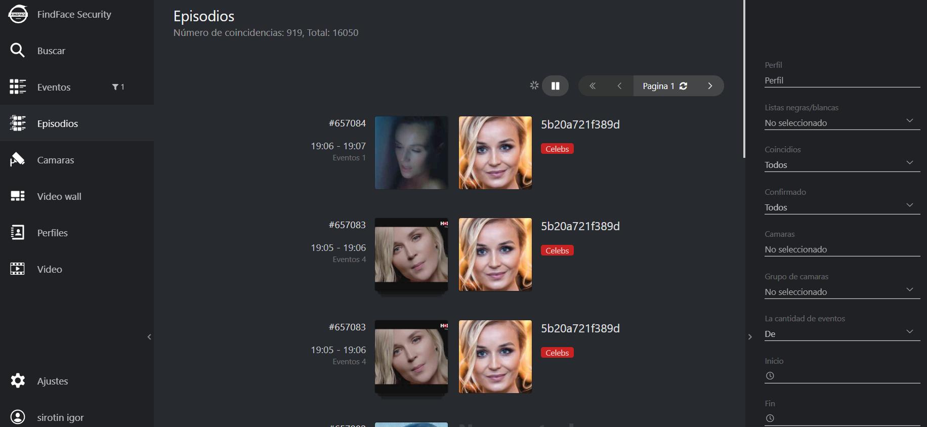 face recognition combine episodes